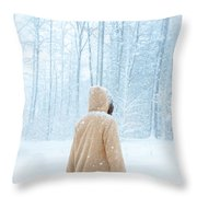 Winter's Tale Throw Pillow