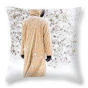 Winter's Tale II Throw Pillow