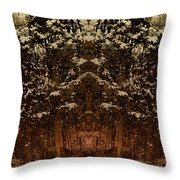 Winterscape 3 Throw Pillow
