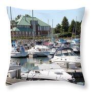 Winthrop Harbor Throw Pillow