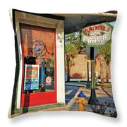 Wintzells Firehydrant Throw Pillow