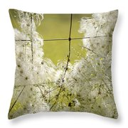 Wire Weed 14432 Throw Pillow