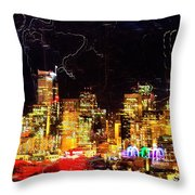 Wired Seattle Throw Pillow