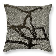 Wired Thought Throw Pillow