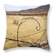 Wired Western Throw Pillow