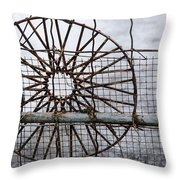Wired Wire On Wire Throw Pillow