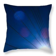 Wires 4 Throw Pillow