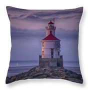 Wisconsin Point  Throw Pillow