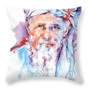 Wisdom Of Ages Throw Pillow