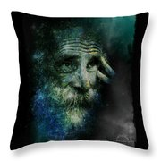 Wisdom Of The Stars Throw Pillow