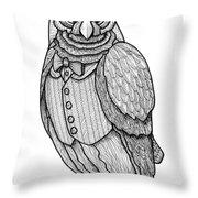Wisdom Owl Throw Pillow