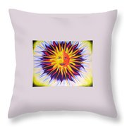Wisdom Sun Throw Pillow