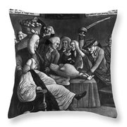Wise Men Of Gotham, 1776 Throw Pillow