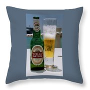 Cheers From Stella Throw Pillow