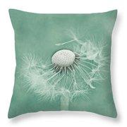 Wishful Throw Pillow by Kim Hojnacki