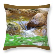 Wishing Waterfall Throw Pillow
