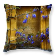 Wisteria Wall Throw Pillow
