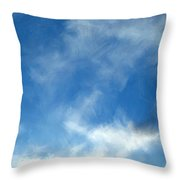 Wistfulness In The Sky  Throw Pillow