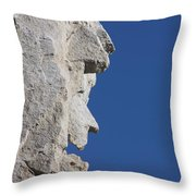 Witch Rock Throw Pillow