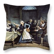 Witch Trial Throw Pillow