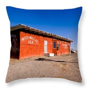 Witch Wells Arizona Throw Pillow