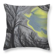 Witch Wood By Jrr Throw Pillow