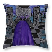 Witch World Throw Pillow