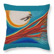 Witches' Branch 1 By Jrr Throw Pillow