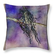Witchride Throw Pillow