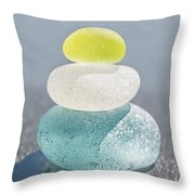 With A Twist Throw Pillow by Barbara McMahon