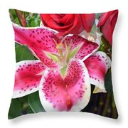 With All My Love Throw Pillow