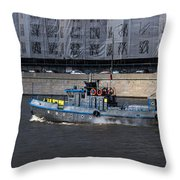 With All Sails Set Throw Pillow