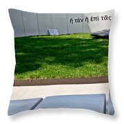 With It Or On It Throw Pillow