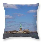 With Liberty... Throw Pillow