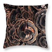 With Love - Grounded Throw Pillow by Theresa  Asher