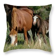 With Love Throw Pillow by Sabrina L Ryan