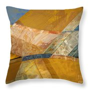 With The Floorboards  Throw Pillow