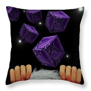 With The Lightest Touch Throw Pillow