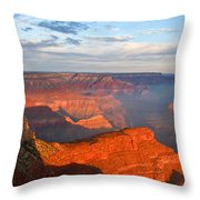 With The Morning Sun On My Back Throw Pillow