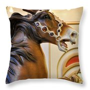 With The Wind At My Back Throw Pillow