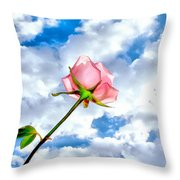 With You Always Throw Pillow