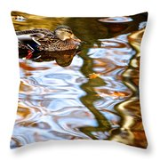 Withdrawn Throw Pillow