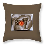 Within A Rose Throw Pillow