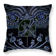 Within The Darkness Throw Pillow