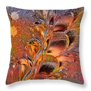 Within The Glass Throw Pillow