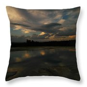 Within The Moment Of A Moment Throw Pillow