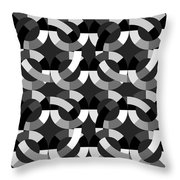 Without Colors  Throw Pillow