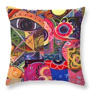 Without Definition - The Joy Of Design Series Compilation Throw Pillow