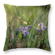 Without Rustling                  Throw Pillow