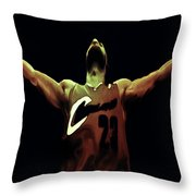 Witness Throw Pillow by Brian Reaves